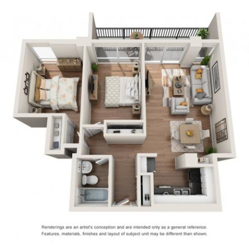 Floor Plan 17 | Houston House