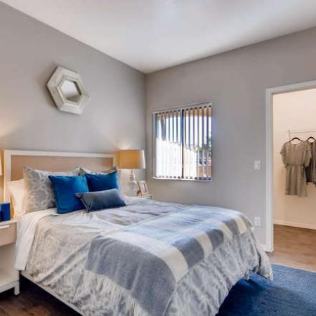 Spacious Bedroom | Phoenix AZ Apartment Homes | Palm Court Apartments