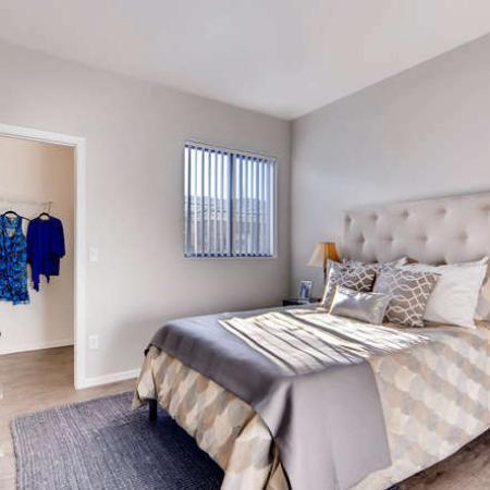 Elegant Bedroom | Phoenix AZ Apartment For Rent | Palm Court Apartments