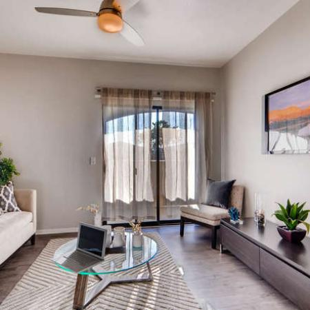 Elegant Living Room | Apartments for rent in Phoenix, AZ | Palm Court Apartments