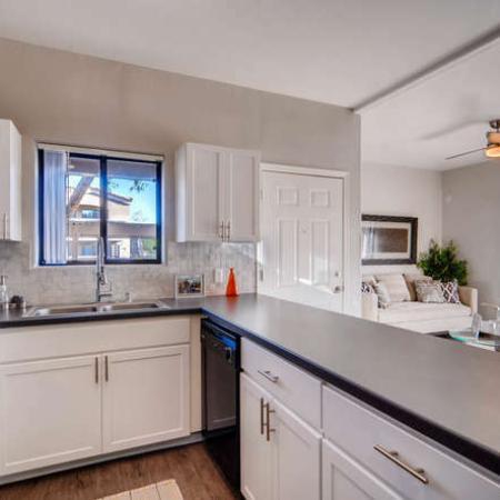 State-of-the-Art Kitchen | Phoenix AZ Apartment Homes | Palm Court Apartments