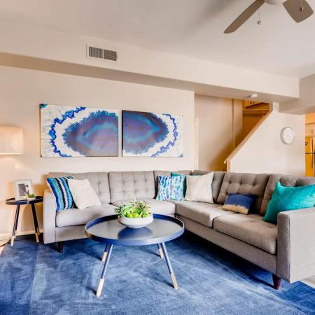 Luxurious Living Room | Apartments For Rent In Ahwatukee | Verano Townhomes