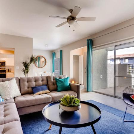Elegant Living Room | Apartments In Ahwatukee Foothills | Verano Townhomes