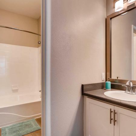 Ornate Bathroom | Ahwatukee Foothills Apartments | Verano Townhomes