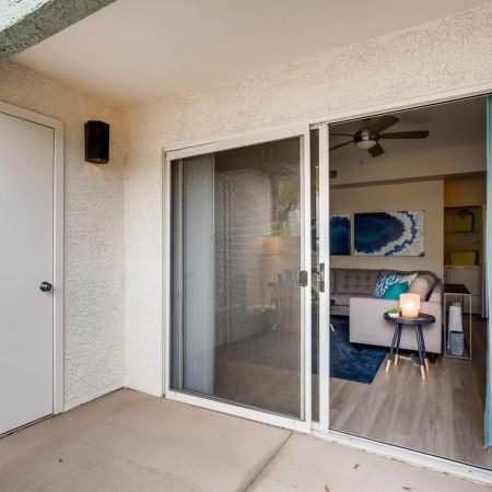 Spacious Porch Area | Apartments For Rent In Ahwatukee | Verano Townhomes