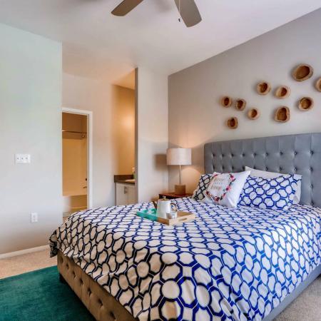 Elegant Bedroom | Ahwatukee Apartments | Verano Townhomes