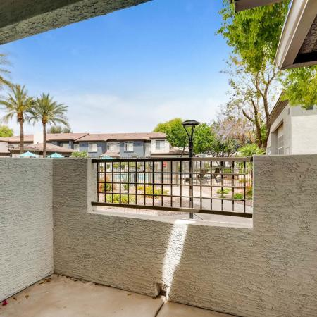 Spacious Apartment Balcony | Apartments In Ahwatukee Foothills | Verano Townhomes