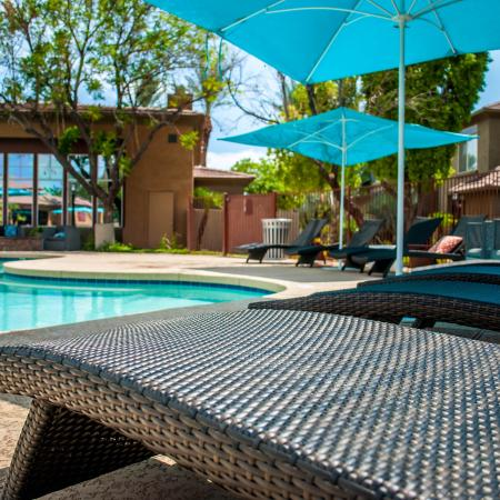 Lounging by the Pool | Apartments In Ahwatukee Foothills | Verano Townhomes