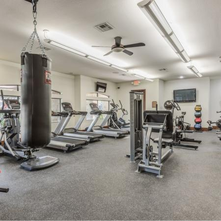 Cutting Edge Fitness Center | Richmond TX Apartments For Rent | Deseo at Grand Mission