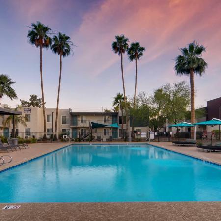 Resort-Style Swimming Pool at Scottsdale Gateway II