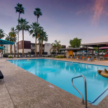 Swimming Pool at Scottsdale Gateway II