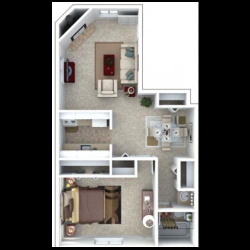Floor Plan 2 | The Lodge at Aspen Grove