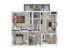 Sequoia | 2 bed 2 bath | from 933 square feet
