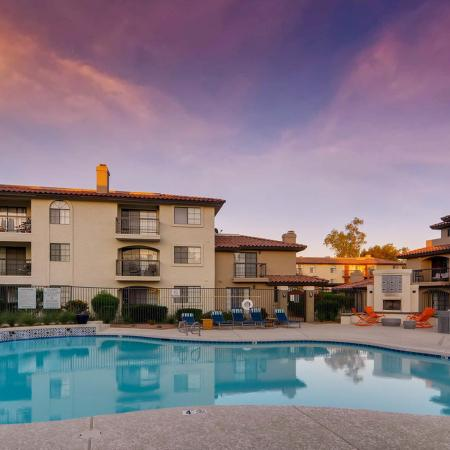 Sparkling Pool | Apartments for rent in Scottsdale, AZ | Chazal Scottsdale