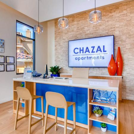 Spacious Community Club House | Scottsdale AZ Apartments For Rent | Chazal Scottsdale