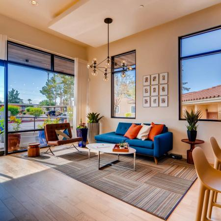Elegant Community Club House | Scottsdale AZ Apartments | Chazal Scottsdale