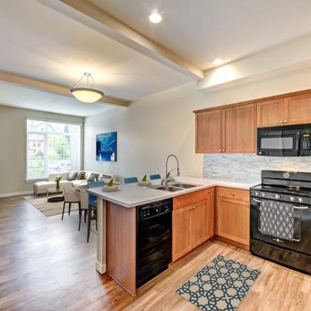 Elegant Kitchen | Apartments in Tacoma , WA | Chelsea Heights Apartments