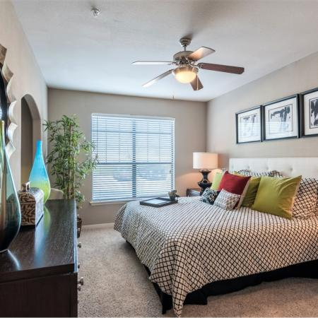 Spacious Master Bedroom | Richmond TX Apartments For Rent | Deseo at Grand Mission