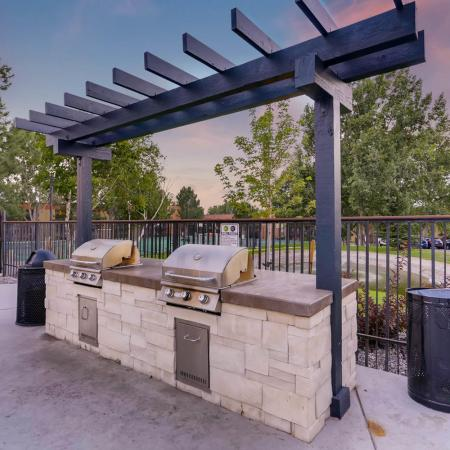 Resident BBQ | Apartments in Denver, CO | Woodstream Village Apartments