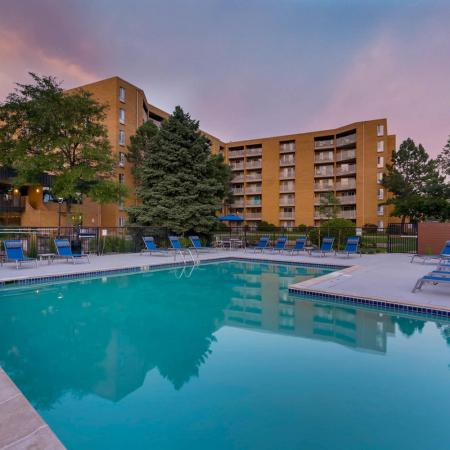 Swimming Pool | Apartment Homes in Denver, CO | Woodstream Village Apartments