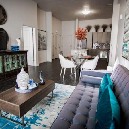 Spacious Living Room | Apartments In West Jordan | Novi at Jordan Valley Station