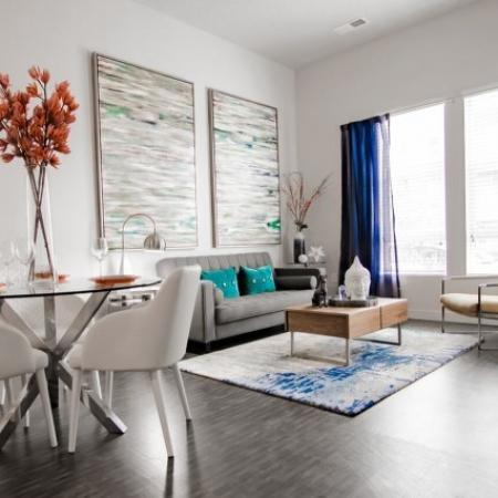 Elegant Living Room | Apartments West Jordan | Novi at Jordan Valley Station