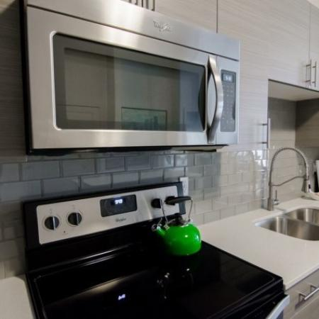 Luxurious Kitchen | West Jordan Utah Apartments | Novi at Jordan Valley Station