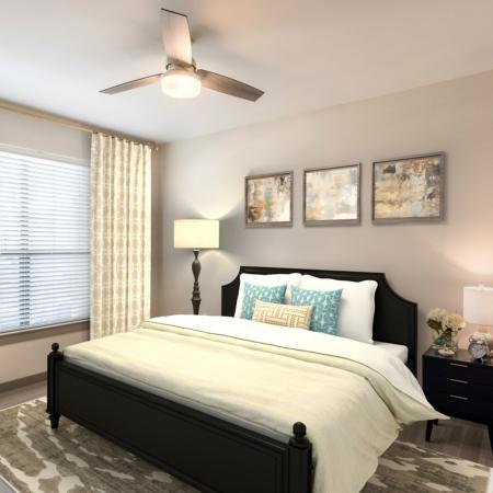 Luxurious Bedroom | Richmond Apartment Rentals | Deseo at Grand Mission