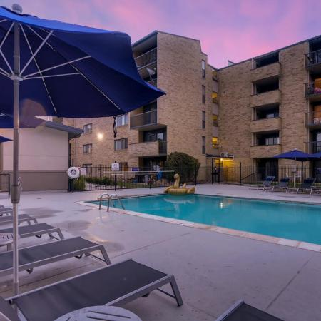 Sparkling Pool | 2 Bedroom Apartments In Lakewood CO | Lakeview Towers At Belmar