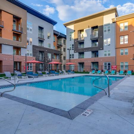 Resort Style Pool | Apartments In West Jordan | Novi at Jordan Valley Station