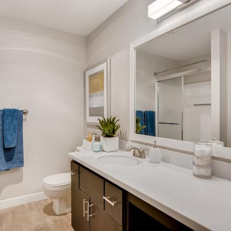Spacious Bathroom | Tualatin OR Apartment For Rent | Rivercrest Meadows Apartments