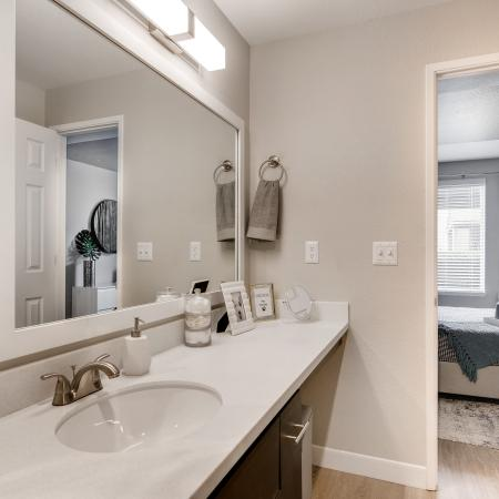 Elegant Bathroom | Apartments in Tualatin, OR | Rivercrest Meadows Apartments