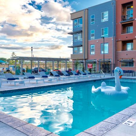 Sparkling Pool | Apartments West Jordan | Novi at Jordan Valley Station
