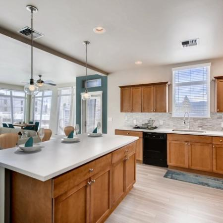State-of-the-Art Kitchen | Tacoma  WA Apartment Homes | Chelsea Heights Apartments
