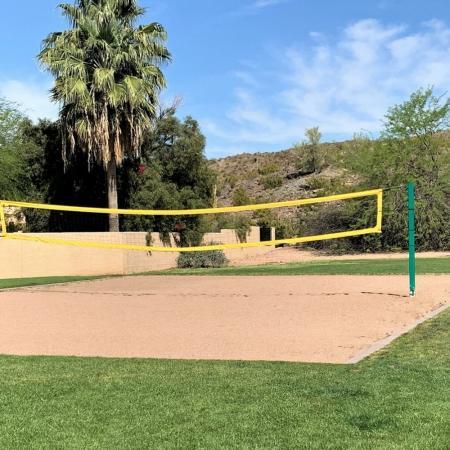 Verano-Volleyball Court