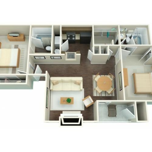Floor Plan 3 | Riverbend 2