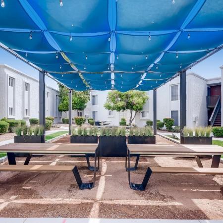 Scottsdale AZ Apartment | The Cortesian Apartments| Picnic