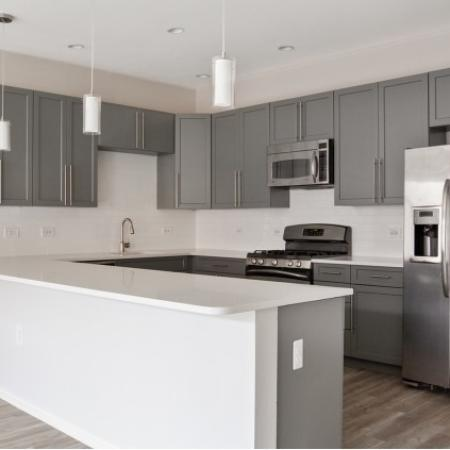1000 Jefferson Street Apartments|Kitchen