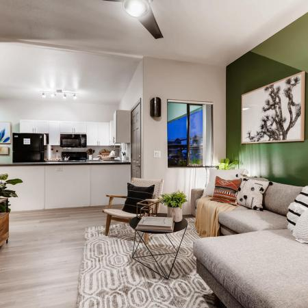 Palm Court|Livingroom