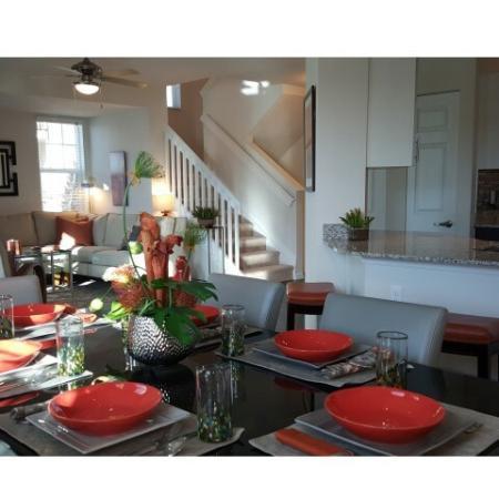 Elegant Dining Room | Wellington Apartments | The Quaye at Wellington