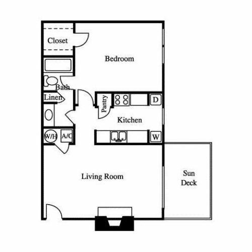 Floor Plan | Greenhouse Apartments