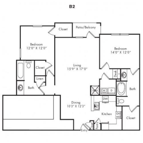 Floor Plans 5 | Villas at Loganville