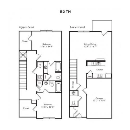 Floor Plans 6 | Villas at Loganville