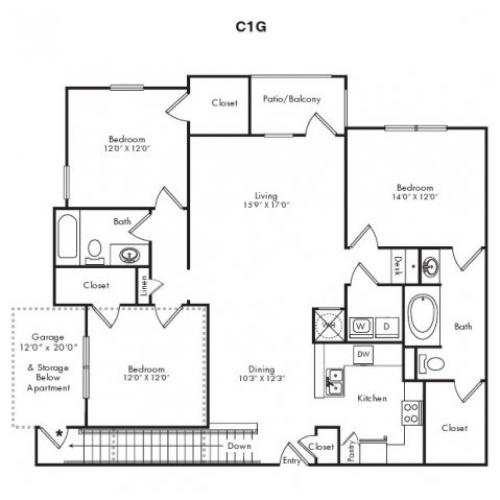 Floor Plans 8 | Villas at Loganville