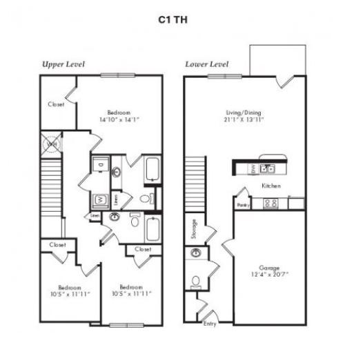 Floor Plans 9 | Villas at Loganville