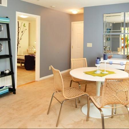 Luxurious Dining Room | Kennesaw State Apartments | Greenhouse Apartments