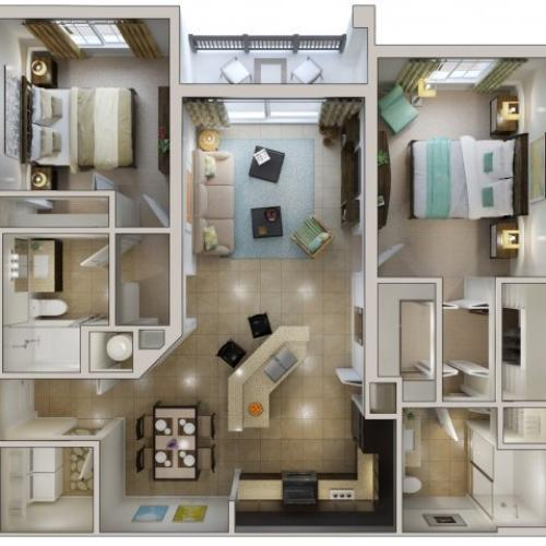 Floor Plan 8 | Bridges at Kendall Place