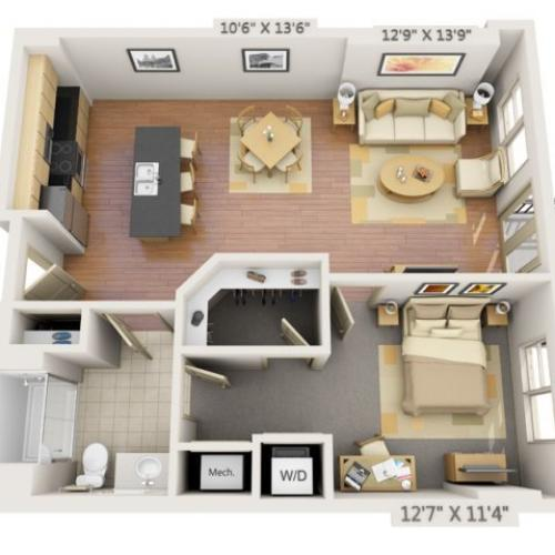 Crestone Apartments: 2 Bed / 2 Bath Apartment In Denver CO