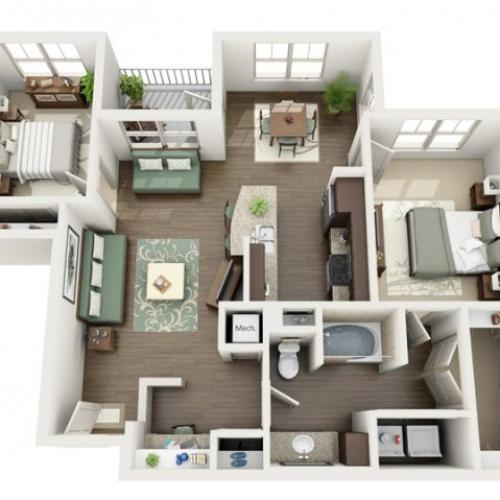 Floor Plan 22 | Azure (FL)