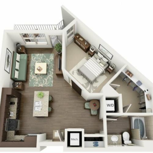 Floor Plan 18 | Azure (FL)